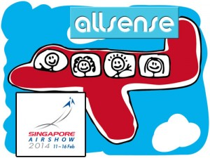 AllSense to scent Singapore Air Show