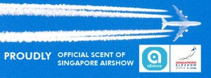 AllSense, official scent supplier of Singapore AirShow