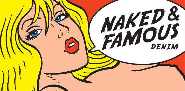 Naked and Famous get sensory with their fabrics