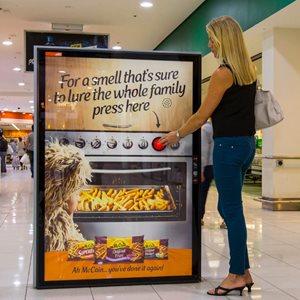 McCain Scent Marketing Campaign