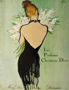 Miss Dior 1950s Advert