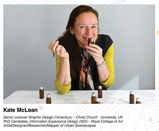 Kate McLean, Scent Map Designer